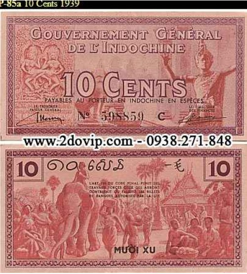 10 CENTS 1939