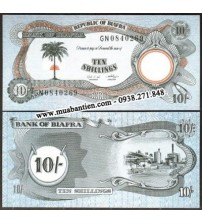 MS1996 : Biafra 10 Shillings 1968 UNC
