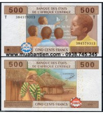 Central African States 500 Francs 2002 UNC