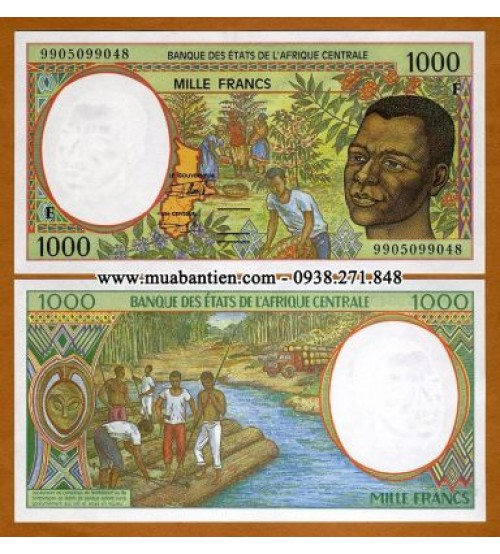 Central African States 1000 Francs 2000 UNC