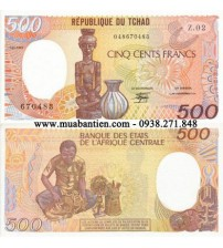 MS1785 : Chad 500 Francs 1987 UNC