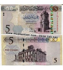 MS2433 : Libya 5 Pounds 2015 UNC