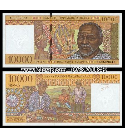 MS1466 : Madagascar 10000 Francs 1995 UNC