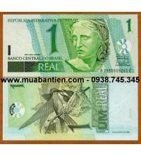 MS480 : Brazil 1 Real 2003 UNC