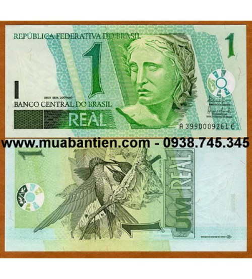 Brazil 1 Real 2003 UNC