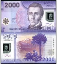 MS1228 : Chile 2000 Pesos 2010 UNC polymer