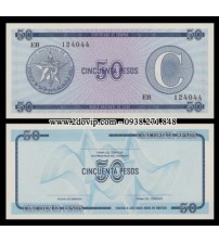R244a : Cuba 50 pesos - 25k - Foreign Exchange Certificates