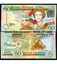 MS1605 : East Caribbean 50 Dollar 2008 UNC