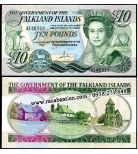 MS708 : Falkland Islands 10 Pound 2011 UNC