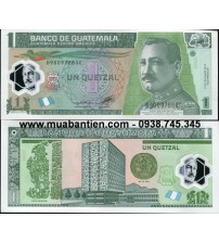 MS2258 : Guatemala 1 Quetzales 2011 UNC polymer