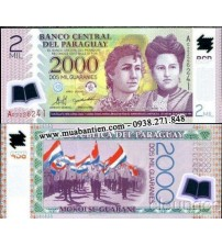 MS726 : Paraguay 2000 Guaranies 2008 UNC polymer