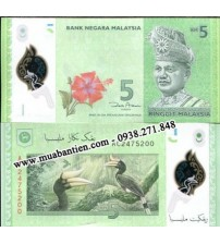 MS1928 : Malaysia 5 Ringgit 2012 UNC polymer