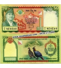 MS406 : Nepal 50 Rupees 2005 UNC