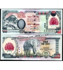 MS1019 : Nepal 1000 Rupees 2008 UNC