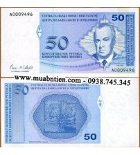 MS1736 : Bosnia and Herzegovina 50 Pfeniga 1998 UNC