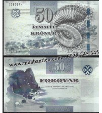 MS1504 : Faeroe Islands 50 Kronur 2012 UNC
