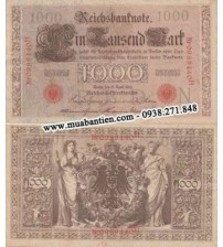 MS918 : Đức - Germany 1000 Mark 1910 AUNC
