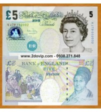 MS1623 : Anh - Great Britain 5 pounds 2004 UNC