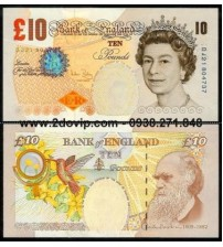 MS1624 : Anh - Great Britain 10 pounds 2004 UNC