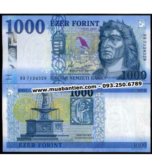 MS2623 : Hungary 1000 Forint 2018 UNC