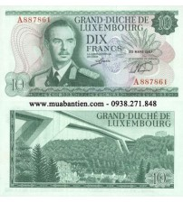 MS1761 : Luxembourg 10 Francs 1967 UNC