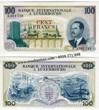 Luxembourg 100 Francs 1968 UNC