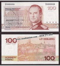 MS630 : Luxembourg 100 Francs 1986 UNC