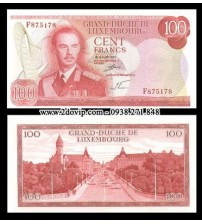 MS1475 : Luxembourg 100 Francs 1970 UNC
