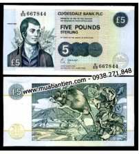 MS2112 : Scotland 6 Pound 2002 UNC Clydesdale Bank