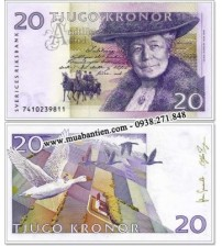 Thụy Điển - Sweden 20 Kronor 2008 UNC