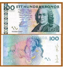 Thụy Điển - Sweden 100 Kronor 2008 UNC