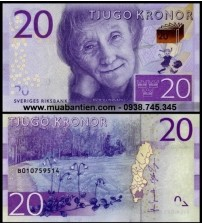MS2452 : Thụy Điển - Sweden 20 Kronor 2015 UNC