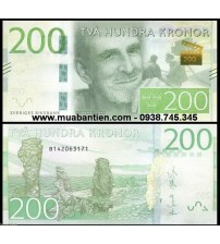 Thụy Điển - Sweden 200 Kronor 2015 UNC