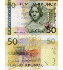 MS673 : Thụy Điển - Sweden 50 Kronor 2011 UNC
