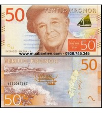 MS2451 : Thụy Điển - Sweden 50 Kronor 2015 UNC