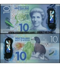 MS2440 : New Zealand 10 Dollar 2015 UNC polymer