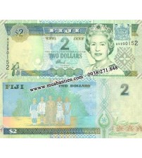 MS1983 : Fiji 2 Dollar 2002 UNC