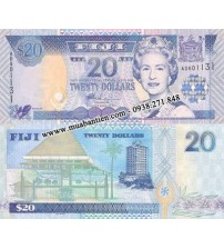 MS1986 : Fiji 20 Dollar 2002 UNC