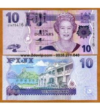 MS1609 : Fiji 10 Dollar 2007 UNC