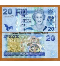 MS1610 : Fiji 20 Dollar 2007 UNC