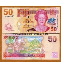 MS1611 : Fiji 50 Dollar 2007 UNC