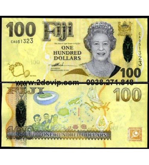 MS1612 : Fiji 100 Dollar 2007 UNC
