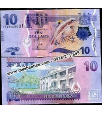 MS2078 : Fiji 10 Dollar 2013 UNC
