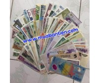 100 Different Currency Banknotes From 100 Countries UNC