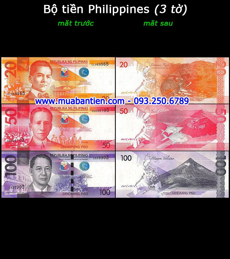 tiền giấy Philippines giá rẻ